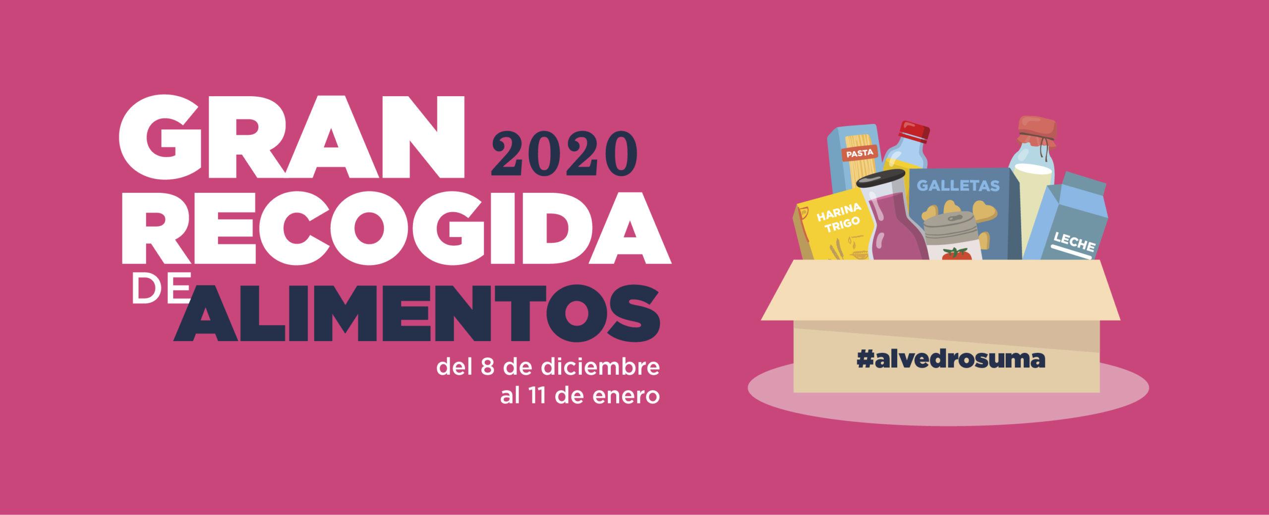 Campaña gran recogida 2020 alimentos