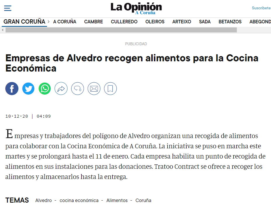 Noticia la opinion