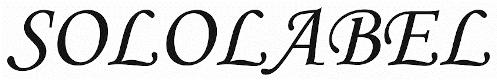 Sololabel logo